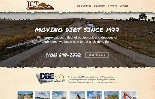 JCT Construction Website
