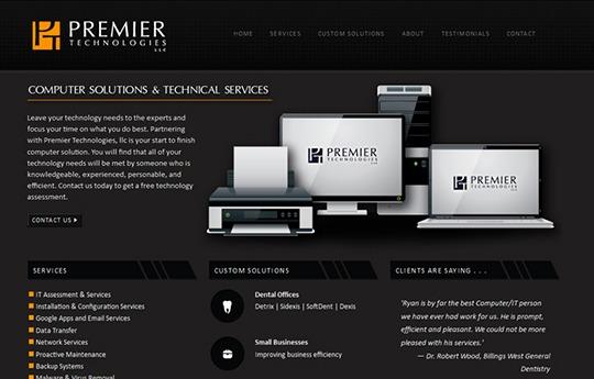 Premier Technologies Website
