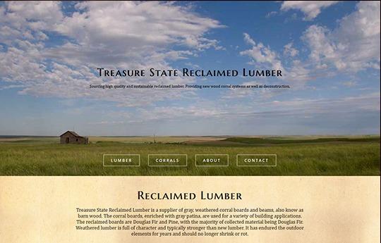 Reclaimed Lumber Website