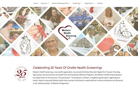 Health Screening Website