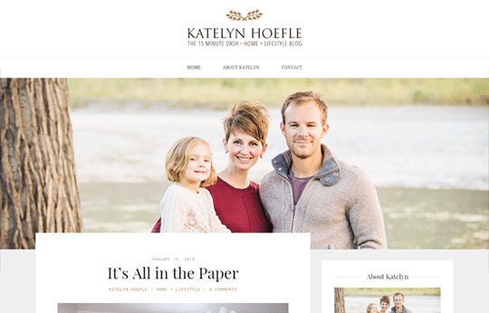 Katelyn Hoefle - Personal Blog