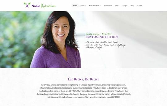 Paula Carper – Noble Nutrition