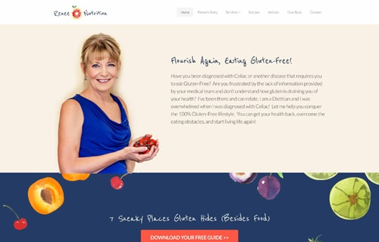 Renee Nutrition – Gluten-Free Coach
