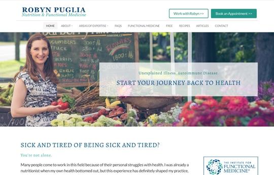 Robyn Puglia - Nutrition & Functional Medicine