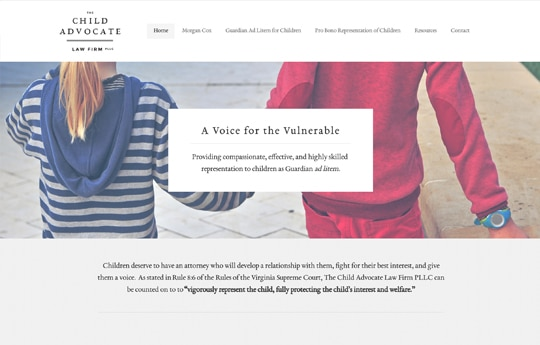 Morgan Cox - The Child Advocate Law Firm