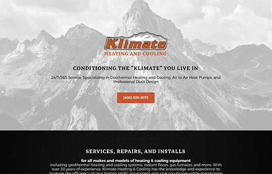 Klimate Heating & Cooling