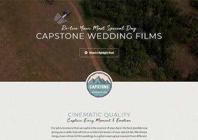 Capstone Wedding Films
