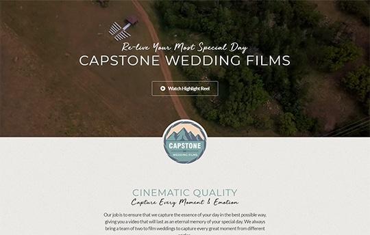 Capstone Wedding Films