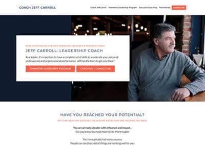 Coach Jeff Carroll