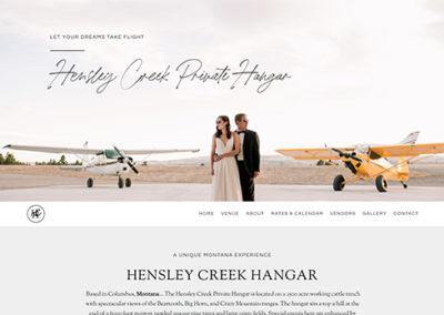 Hensley Creek Hangar